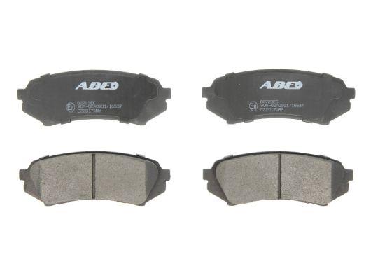 Plaquettes de frein arriere ABE C22017ABE (X1)