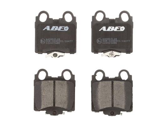 Plaquettes de frein arriere ABE C22023ABE (X1)