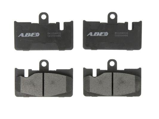 Kit de plaquettes de frein, frein à disque ABE C22024ABE (X1)