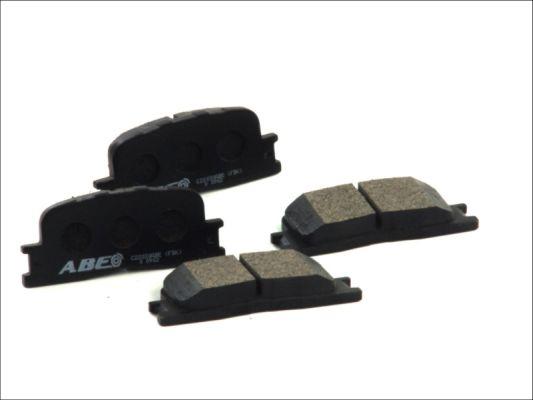Plaquettes de frein arriere ABE C22030ABE (X1)