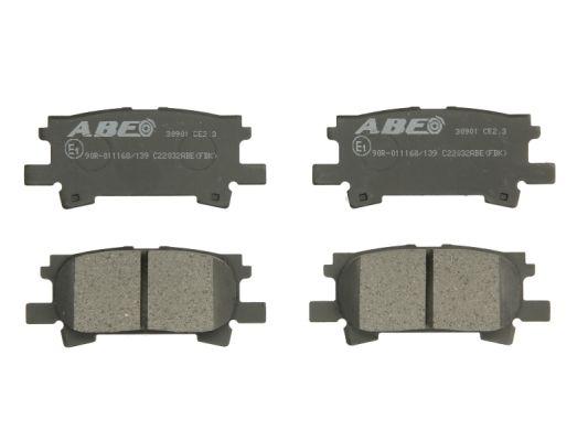 Plaquettes de frein arriere ABE C22032ABE (X1)