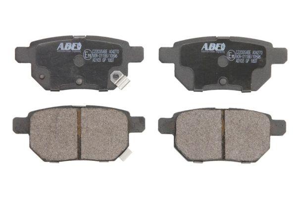 Plaquettes de frein arriere ABE C22035ABE (X1)