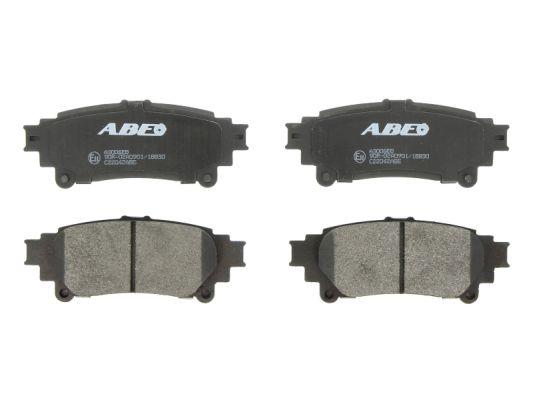 Plaquettes de frein arriere ABE C22042ABE (X1)
