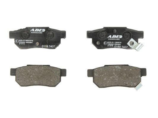 Plaquettes de frein ABE C24002ABE (X1)