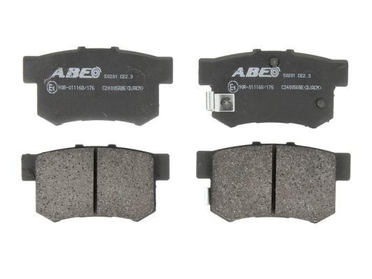 Plaquettes de frein arriere ABE C24005ABE (X1)