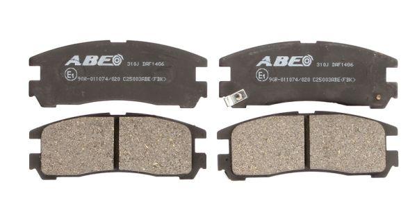 Plaquettes de frein arriere ABE C25003ABE (X1)