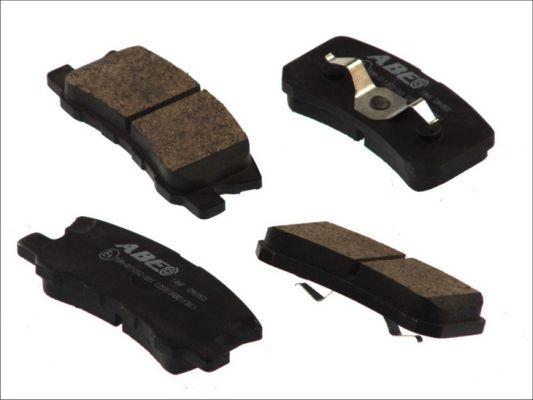 Plaquettes de frein arriere ABE C25010ABE (X1)