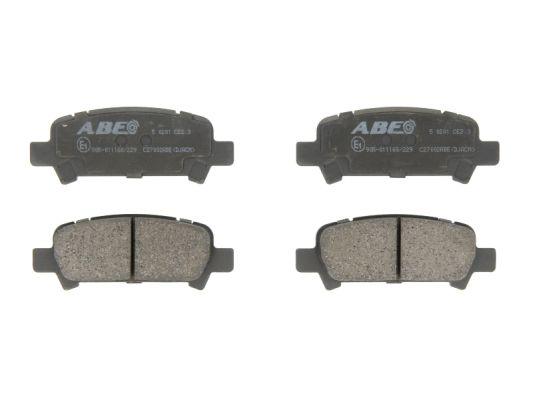 Plaquettes de frein arriere ABE C27002ABE (X1)