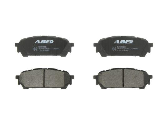 Plaquettes de frein arriere ABE C27003ABE (X1)