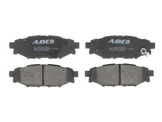 Plaquettes de frein arriere ABE C27005ABE (X1)