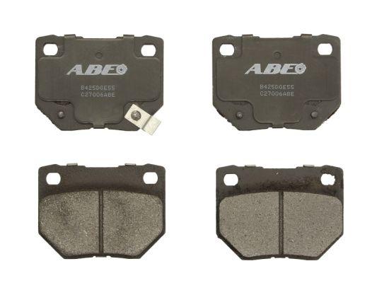 Plaquettes de frein arriere ABE C27006ABE (X1)