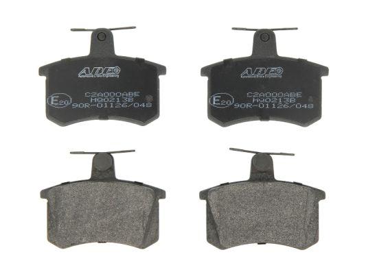 Plaquettes de frein arriere ABE C2A000ABE (X1)