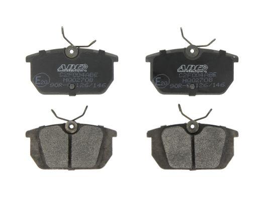 Plaquettes de frein ABE C2F004ABE (X1)