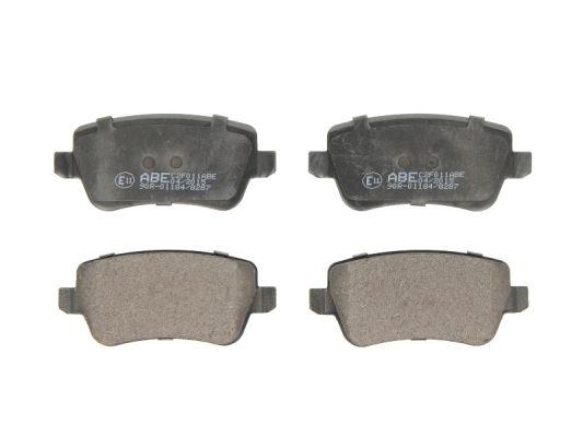 Plaquettes de frein arriere ABE C2F011ABE (X1)