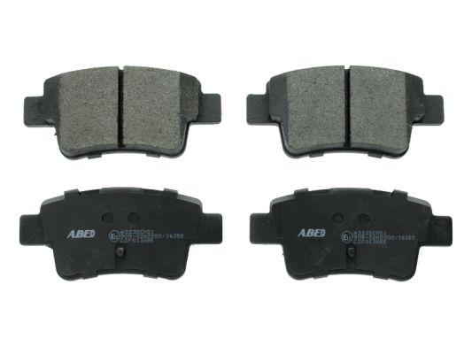 Plaquettes de frein arriere ABE C2F013ABE (X1)