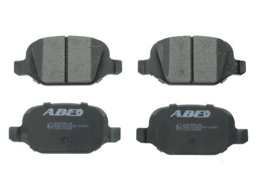 Plaquettes de frein arriere ABE C2F015ABE (X1)