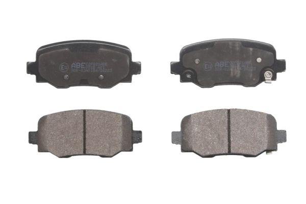 Plaquettes de frein arriere ABE C2F021ABE (X1)