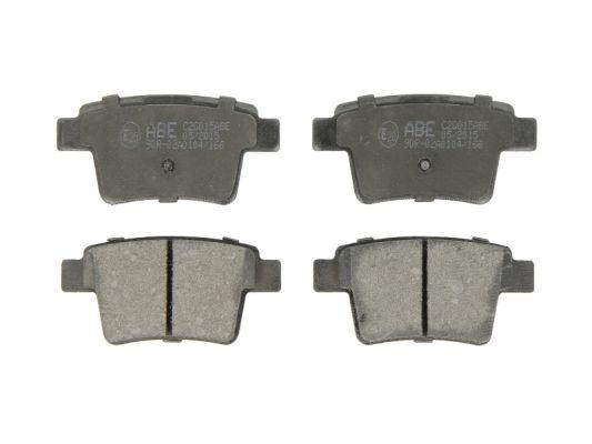 Plaquettes de frein arriere ABE C2G015ABE (X1)