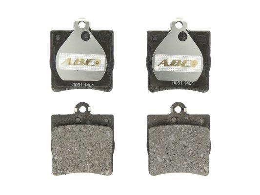 Plaquettes de frein arriere ABE C2M014ABE (X1)