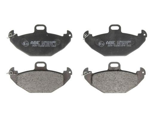 Kit de plaquettes de frein, frein à disque ABE C2R006ABE (X1)