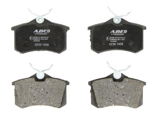 Plaquettes de frein arriere ABE C2W002ABE (X1)