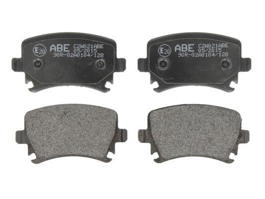 Plaquettes de frein arriere ABE C2W021ABE (X1)