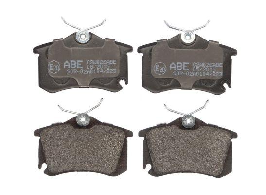 Plaquettes de frein arriere ABE C2W026ABE (X1)