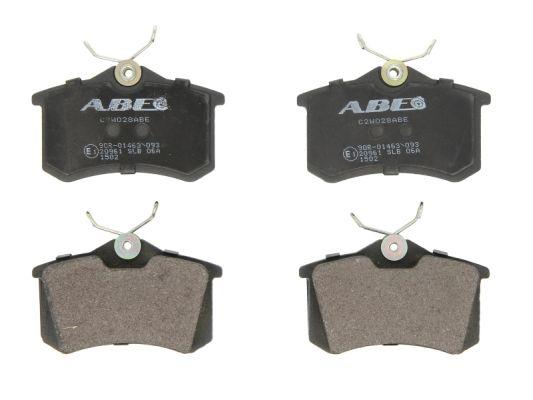 Plaquettes de frein arriere ABE C2W028ABE (X1)