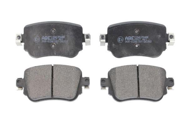 Plaquettes de frein arriere ABE C2W035ABE (X1)