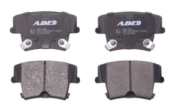 Plaquettes de frein arriere ABE C2Y020ABE (X1)