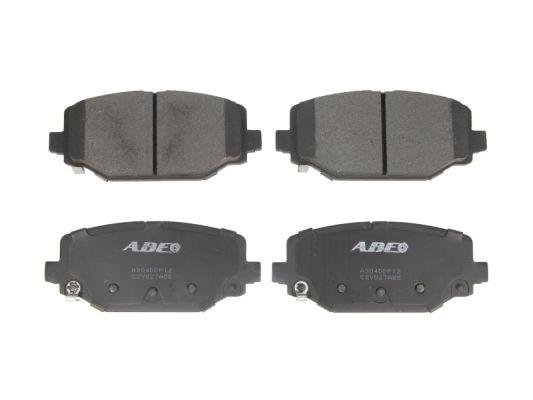 Plaquettes de frein arriere ABE C2Y027ABE (X1)