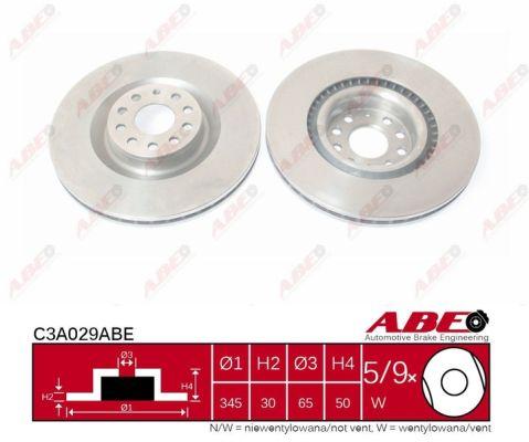 Disque de frein ABE C3A029ABE (X1)