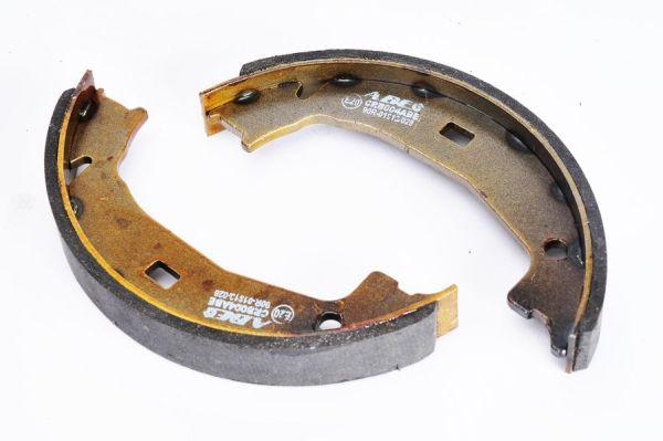 Jeu de mâchoires de frein de frein à main ABE CRB004ABE (X1)