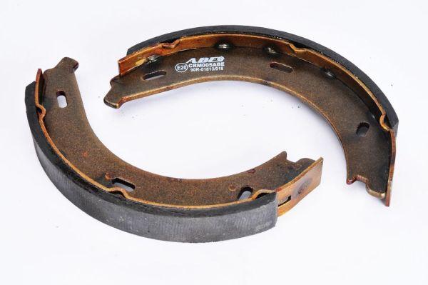 Jeu de mâchoires de frein de frein à main ABE CRM005ABE (X1)