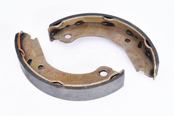 Jeu de mâchoires de frein de frein à main ABE CRV000ABE (X1)