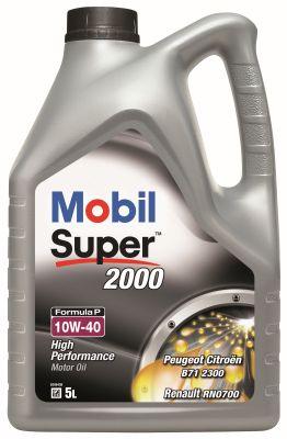 Huile moteur MOBIL 151095 (X1)