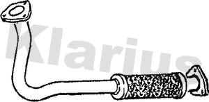 Tube d'echappement KLARIUS 301137 (X1)