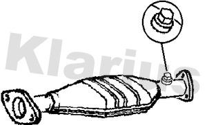 Catalyseur KLARIUS 311073 (X1)