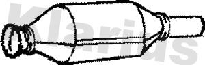 Catalyseur KLARIUS 311203 (X1)