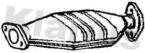 Catalyseur KLARIUS 311473 (X1)