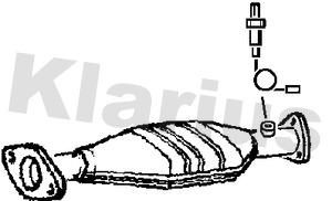 Catalyseur KLARIUS 311480 (X1)
