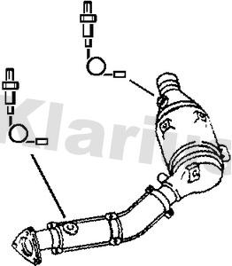 Catalyseur KLARIUS 311851 (X1)