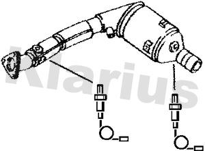 Catalyseur KLARIUS 311852 (X1)