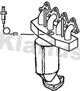 Catalyseur KLARIUS 321649 (X1)