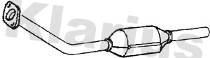 Catalyseur KLARIUS 321781 (X1)