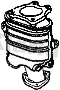 Catalyseur KLARIUS 322278 (X1)