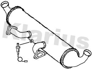 Catalyseur KLARIUS 322509 (X1)