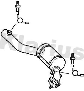 Catalyseur KLARIUS 322510 (X1)