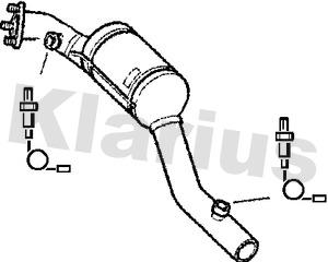 Catalyseur KLARIUS 322511 (X1)