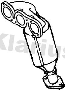 Catalyseur KLARIUS 322798 (X1)
